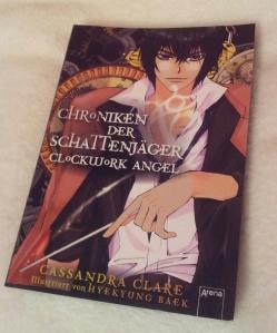 Graphic Novel Clockwork Angel, Buchvorlage: Cassandra Clare, Zeichnungen: Hyekyung Baek, Arena Verlag