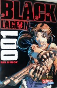 Cover Black Lagoon Band 1; Rei Hiroe; Carlsen Manga