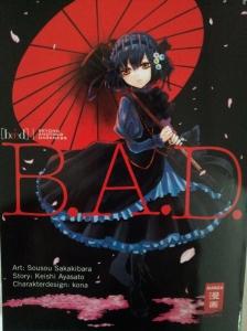 Cover von B.A.D. Band 1; Sousou Sakakibara/Keishi Ayasato; Egmont Manga
