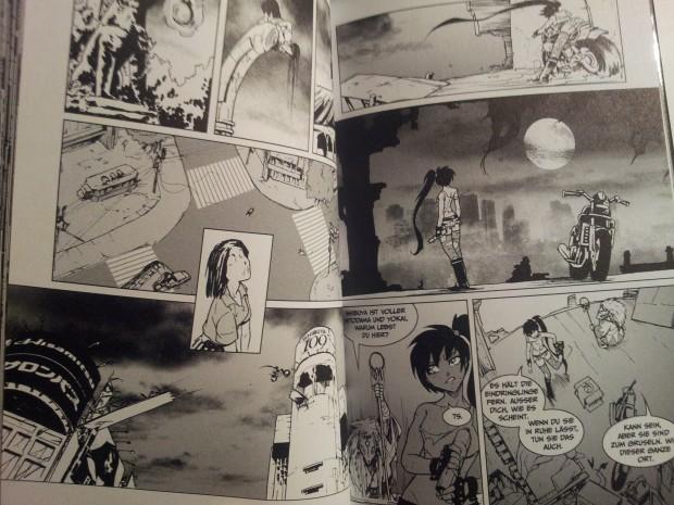 """Ausschnitt aus """"SOUM"""" von Luis Royo/Romulo Royo, Zeichnungen Kenny Ruiz"""
