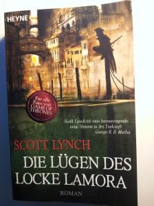 """Cover von """"Die Lügen des Locke Lamora"""" von Scott Lynch; Heyne Verlag"""