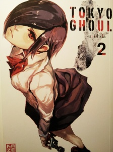 Cover Tokyo Ghoul Band 2; Kaze Manga; Sui Ishida