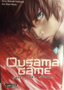 """Cover von """"Ousama Game"""" Band 1; Carlsen Manga"""