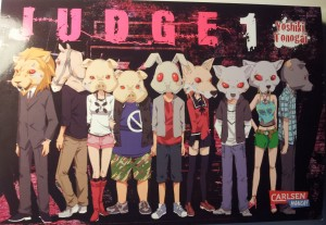 Cover von JUDGE, Band 1; Yoshiki Tonogai, Carlsen Manga