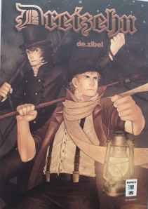 "Cover von ""Dreizehn""; de.zibel; Egmont Manga Verlag"