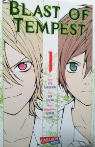 "Cover von ""Blast of Tempest; Carlsen Manga; Kyo Shirodaira/Ren Saizaki/Arihide Sano"