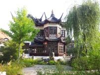 Der Yu-Garten, ein chinesisches Teehaus.