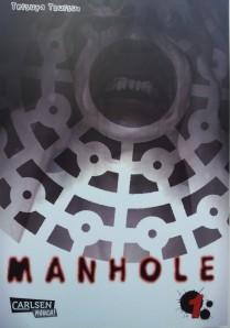 "Cover ""Manhole"" Band 1; Tesuya Tsutsui; Carlsen Manga"