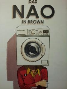 """Cover """"Das Nao in Brown"""" von Glyn Dillon; Egmont Verlag"""
