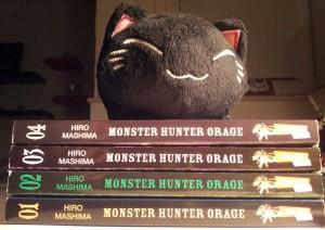 Alle vier Bände Monster Hunter Orage bezwungen von meiner Nemu-Neko (Neko-nemu?o.o); Hiro Mashima; Carlsen Manga