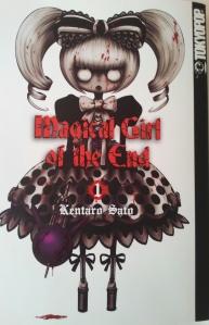 Cover Magical Girl of the End; Kentaro Sato; Tokyopop
