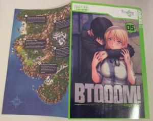 Cover (und Kartenstückchen) von BTOOOM! Band 5; Junya Inoue; Tokyopop