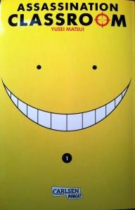 "Cover von ""Assassination Classroom"" Band 1; Yusei Matsui; Carlsen Manga"