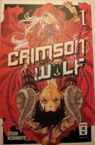 Crimson Wolf, Seishi Kishimoto, Egmont Manga