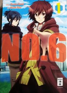NO. 6; Atsuko Asano und Hinoki Kino; Egmont Manga