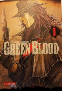 Cover Green Blood
