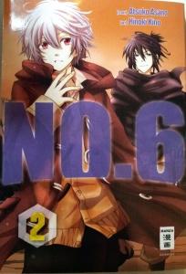 Cover NO. 6, Band 2; Atsuko Asano/Hinoki Kino; Egmont Manga