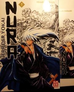 """Cover """"Nura Herr der Yokai"""" Band 1; Hiroshi, Shiibashi; Kazé Manga"""