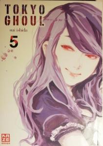 Cover Tokyo Ghoul Band 5; Sui Ishida; Kazé Manga