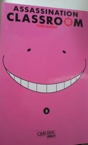 Assassination Classroom Band 3; Yusei Matsui; Carlsen Manga