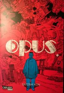 OPUS Cover Band 1; Satoshi Kon; Carlsen Manga