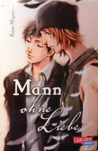 """Cover """"Mann ohne Liebe""""; Kano Miyamoto; Carlsen Manga"""