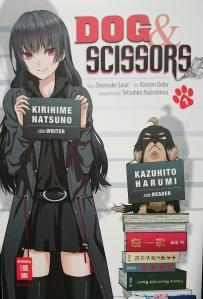 Dog&Scissors Band 1; Story: Shunsuke Sarai; Art: Kamon Ooba; Character Design: Tetsuhiro Nabeshima