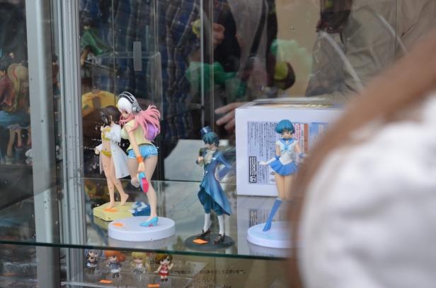 Die guten Figuren waren geschützt vor dem Regen :)