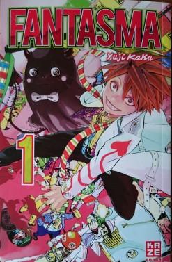 Cover Fantasma Band 1; Yuji Kaku; Kazé Manga