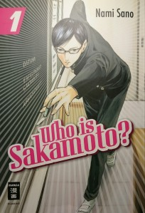 "Cover ""Who is Sakamoto?"" Band 1; Nami Sano, Egmont Manga"