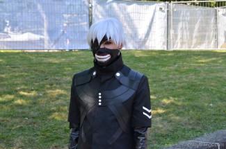 Yes! Ein Ken Kaneki im vollen Ghoul-Modus! :)