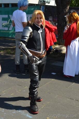 Edward Elric aus Fullmetal Alchemist