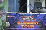 Einen Yu-Gi-Oh-Bus gab es auch. Und gratis Karten.