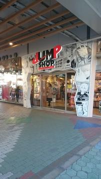 Der JUMP Shop am Tokyo Dome