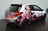 "Itasha mit Motiv aus ""Seraph of the End"""